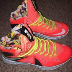 The Cheapest Nike LeBron X P.S Elite Total Crimson Fiberglass-Bl