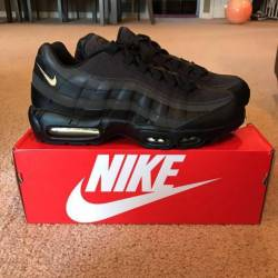 7e28c422d7 ... se shoe in black gold 04fbe cde48; purchase 160 nike air max 95 premium  886bb b5014