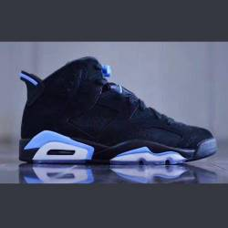 Air jordan 6 retro unc black u...