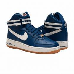 Air force 1 high navy/gum bottom