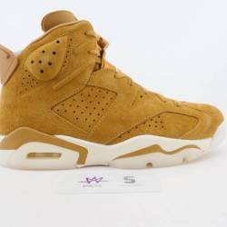 Air jordan 6 retro wheat sz 9 ...