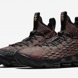 Nike lebron 15 bhm black multi...