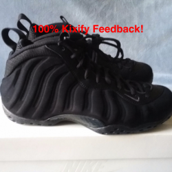 Nike air foamposite one triple...