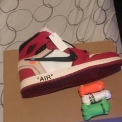 Nike jordan 1 off white size 9