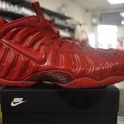 Nike foamposite red october