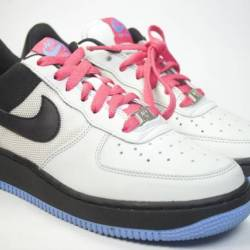 Nike air force one pink blue
