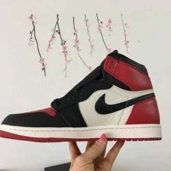 Air jordan 1 black red white b...