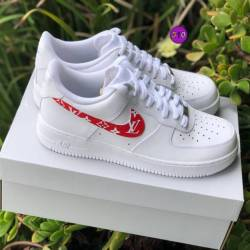 Air force 1 x supreme lv customs