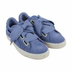 Puma heart fab womens blue sue...