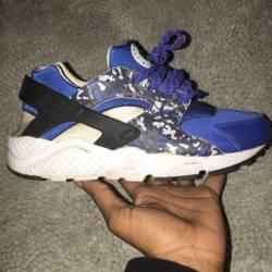 Nike haruaches blue camo
