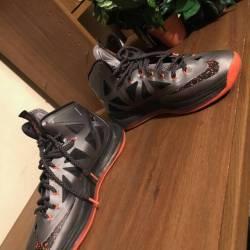 Nike lebron x / 10 'lava' (sz....