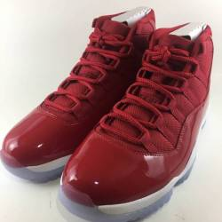 Nike air jordan xi 11 gym red ...