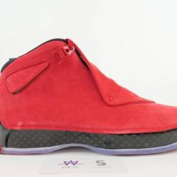 Air jordan 18 retro gym red sz...
