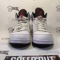 Air jordan 5 retro white cemen...