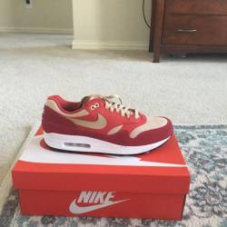 "Air max 1 retro premium ""red..."