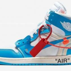 "Off white x air jordan 1 ""po..."