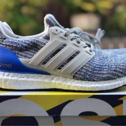 Adidas ultraboost white/royal ...