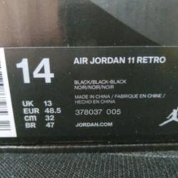 Air jordan 11 cap and gown