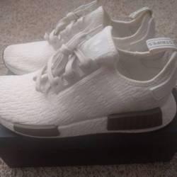 Adidas nmd r1 chalk white trac...