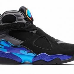 Nike air jordan 8 retro aqua 3...