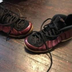 Nike air foamposite one - maroon