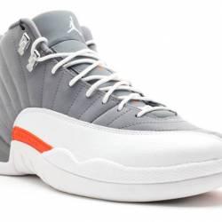 Air jordan 12 retro cool grey ...