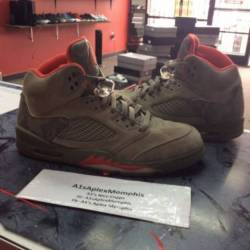 Nike air jordan 5 retro stucco...