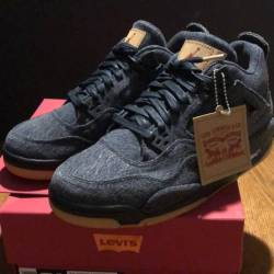 Levi s x air jordan 4 black denim