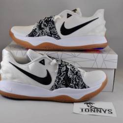 Kyrie low 1 white black sz 11....