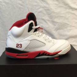 Nike air jordan retro 5 fire r...