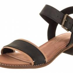 Toms women's camilia black lea...