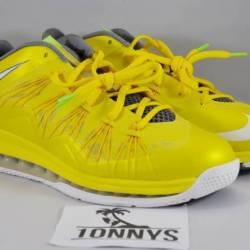 Lebron x 10 low sonic yellow s...