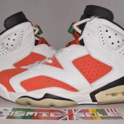 Nike air jordan 6 retro orange...