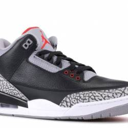Air jordan 3 og retro og black...