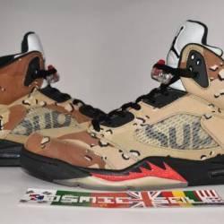 Nike air jordan 5 retro suprem...