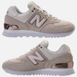 New balance 574 women's suede ...