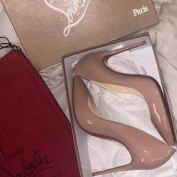 Christian louboutin pigalle nu...