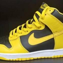 Nike dunk high goldenrod vinta...