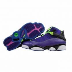 Nike air jordan 6 rings purple...