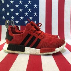 Adidas nmd r1 core red size 10