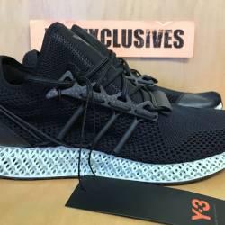 Adidas y-3 runner 4d ii black ...