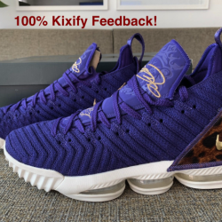 Nike lebron 16 court purple ra...