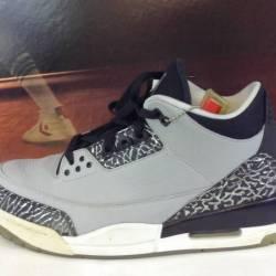 Air jordan 3 - wolf grey