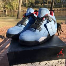 Jordan 4 retro travis scott ca...