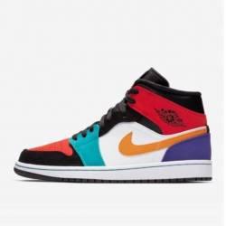Jordan 1 mid multicolor