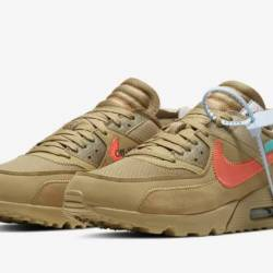 Air max 90 off-white desert or...