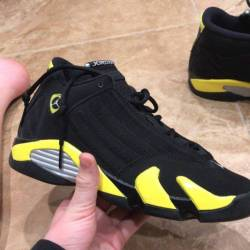 Air jordan 14 gs thunder
