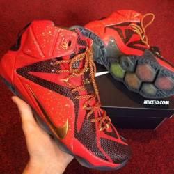 Nike lebron 12 'custom'