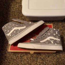 70.00 Custom louis vuitton vans a7c1cfe8f