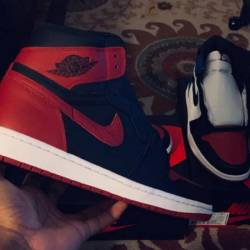 Air jordan 1 retro high og bre...